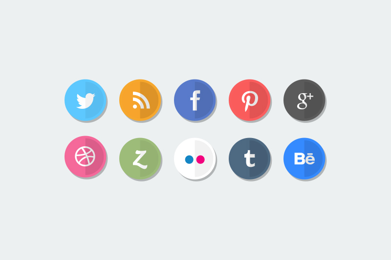 how to make social media icons in color shopify