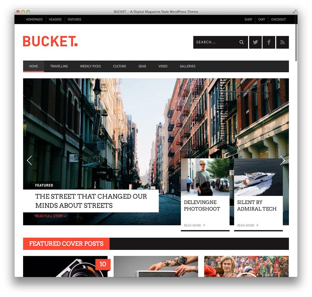 BALDE WordPress tema notícias