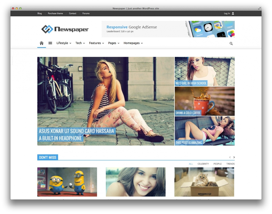 Top 20 Responsive Magazine News WordPress Themes For Blogging and News Sites