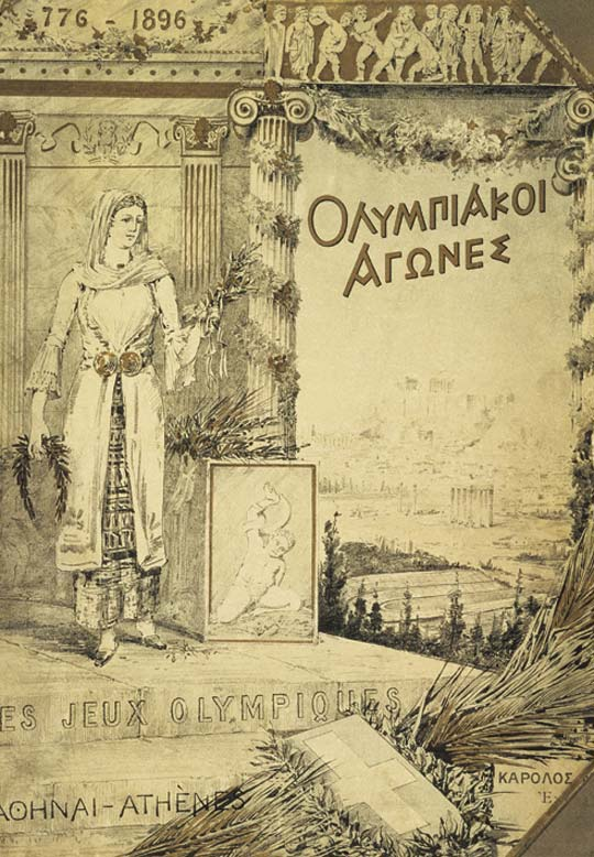1896-Athens-Summer-Olympic-Games-Poster-Cover-of-Report