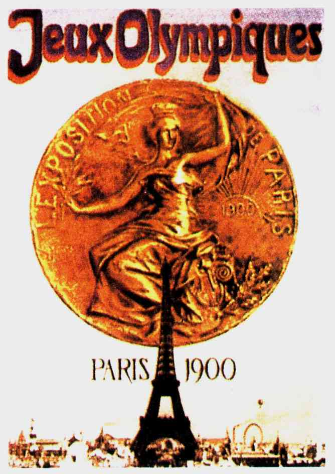 1900-Paris-Summer-Olympic-Games-Poster