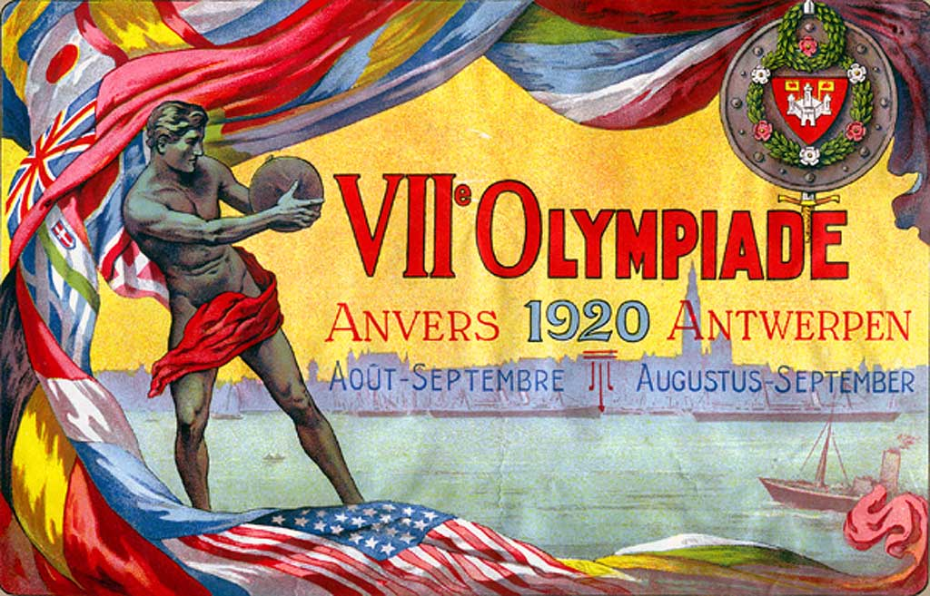 1920-Antwerp-Summer-Olympic-Games-Poster