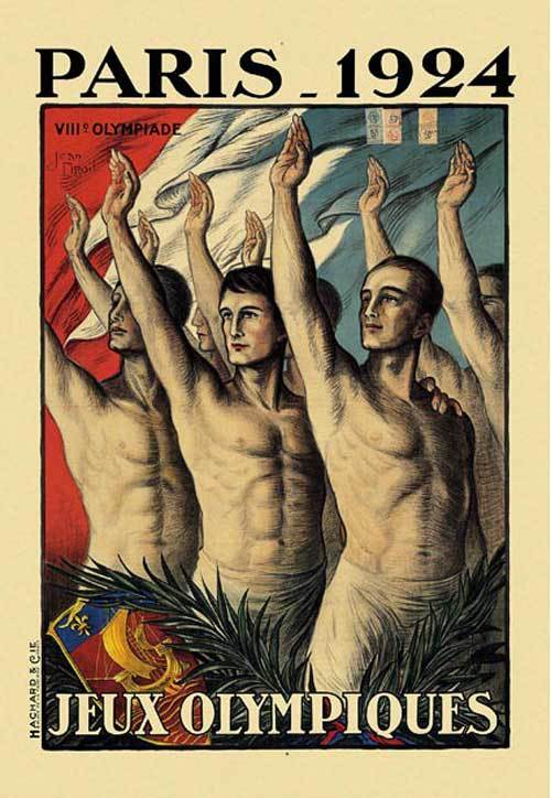 1924-Paris-Summer-Olympic-Games-Poster