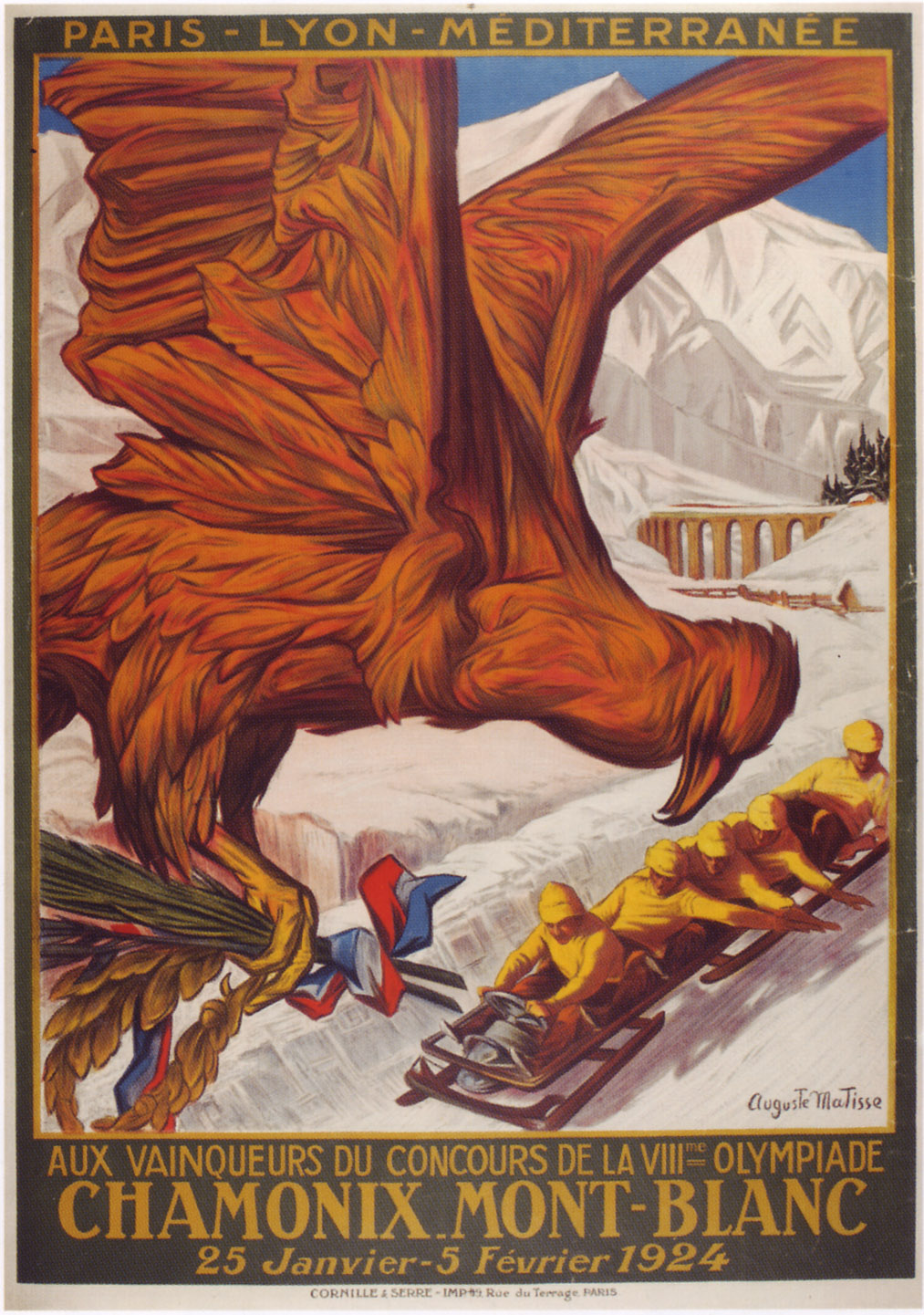 1924-Winter-Olympic-Games-France-Chamonix
