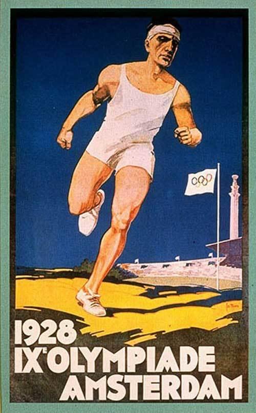1928-Amsterdam-Summer-Olympics-Poster-2