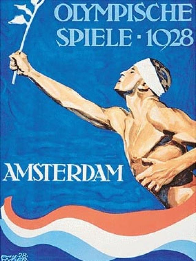 1928-Amsterdam-Summer-Olympics-Poster