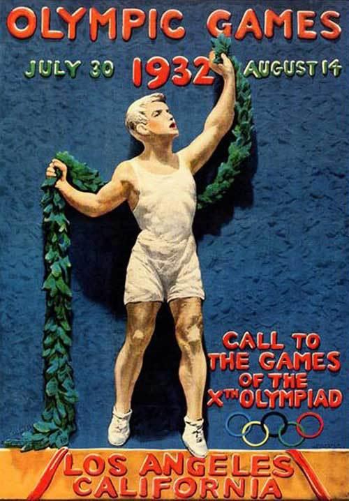1932-Los-Angeles-Summer-Olympics-Poster