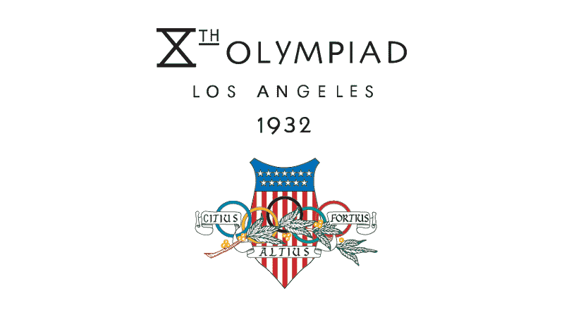 1932 Summer Olympics Los Angeles