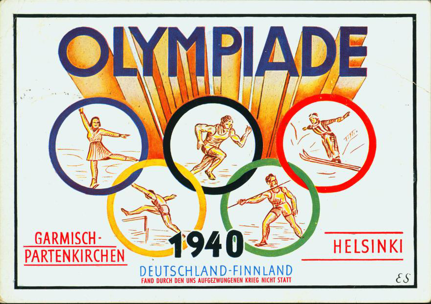 1940-Summer-Olympic-Games-Helsinki-Finland-Torch-Route-from-Garmisch-Partenkirschen-to-Helsink