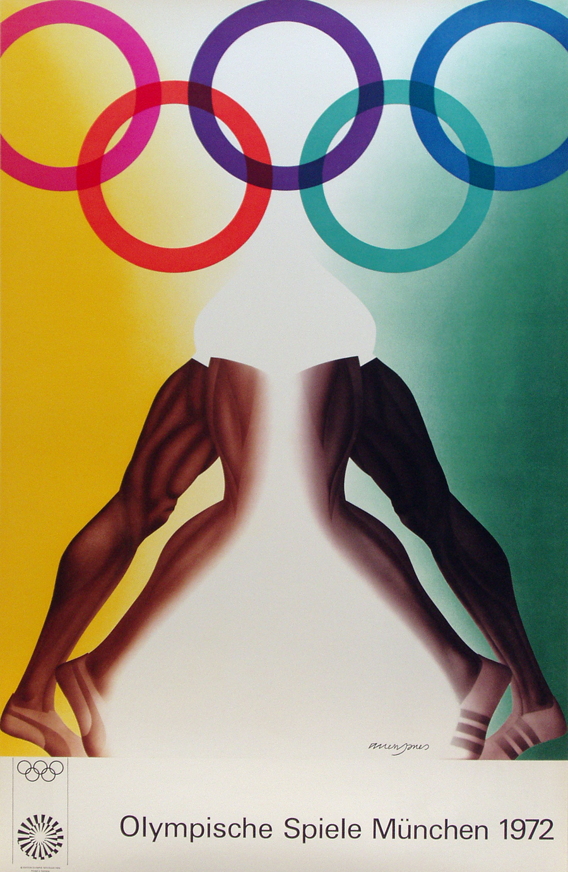 1972 Summer Olympics Poster