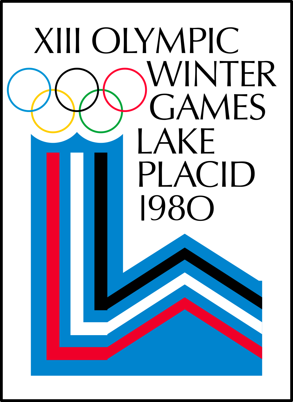 1980 Winter Olympics - Lake Placid, New York, United States