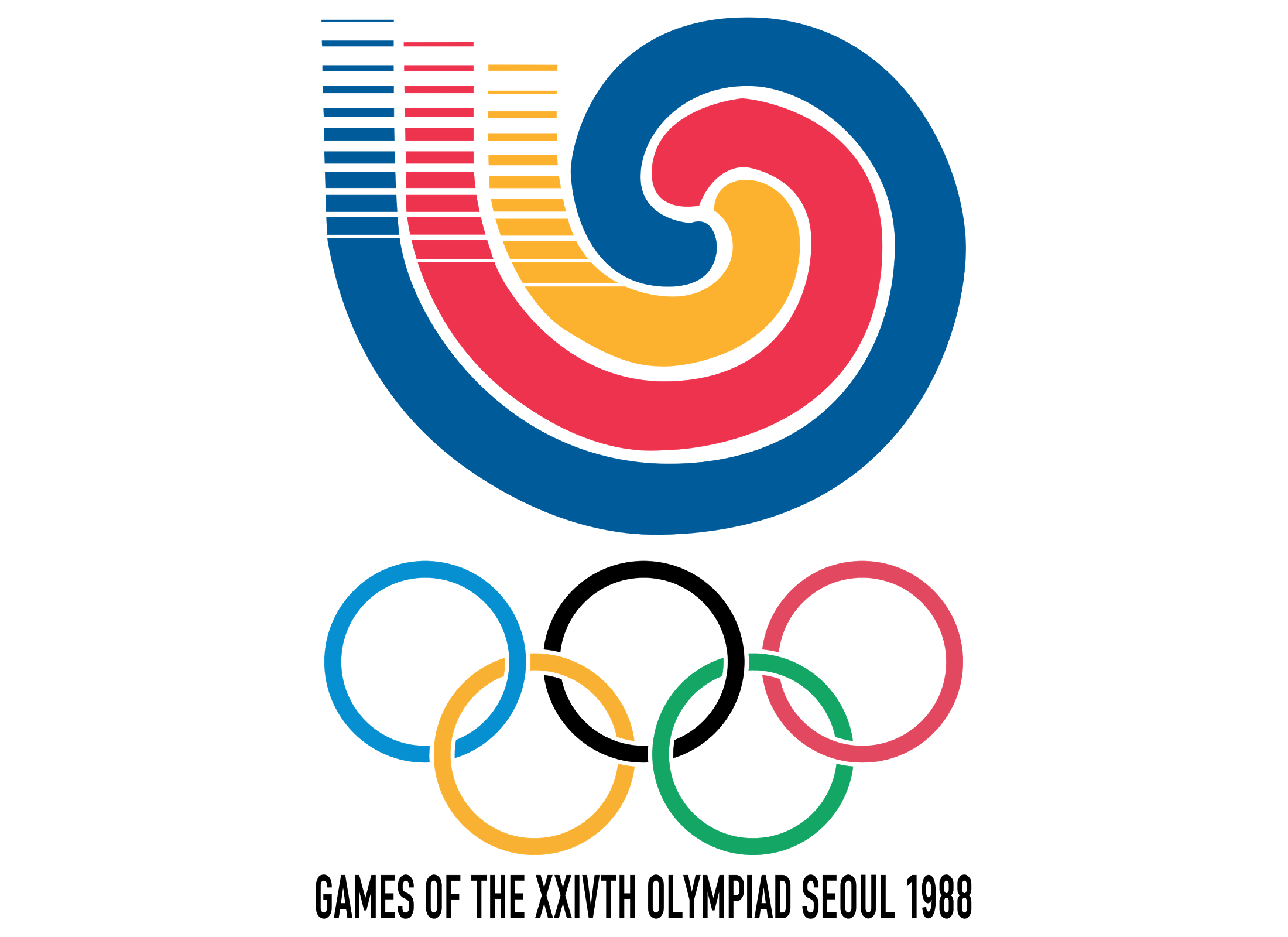 45 olympic logos and symbols from 1924 to 2022 colorlib seoul summer olympics 1988 biocorpaavc Images