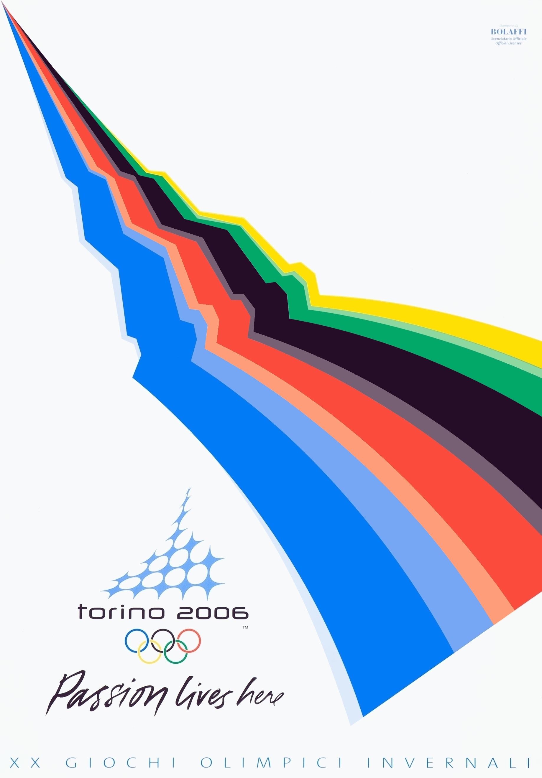 2006 Winter Olympics Poster – Turino, Italy