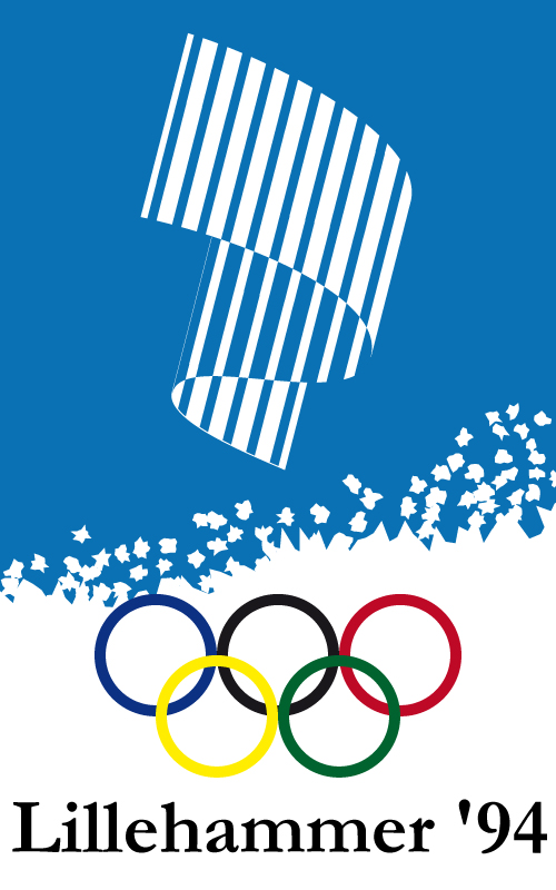 1994 Winter Olympics Poster - Lillehammer, Norway