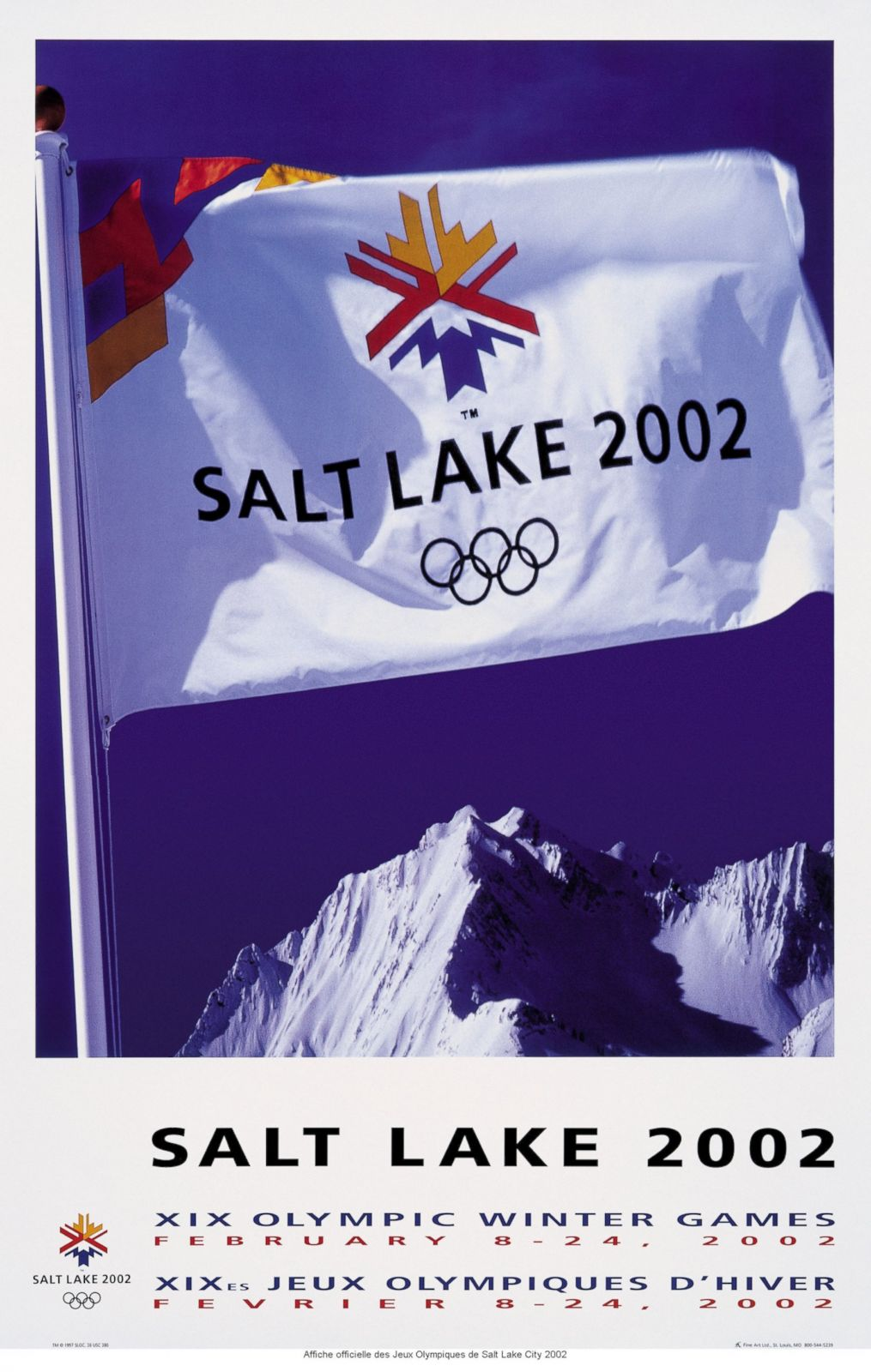 2002 Winter Olympics - Salt Lake City, Utah, United States