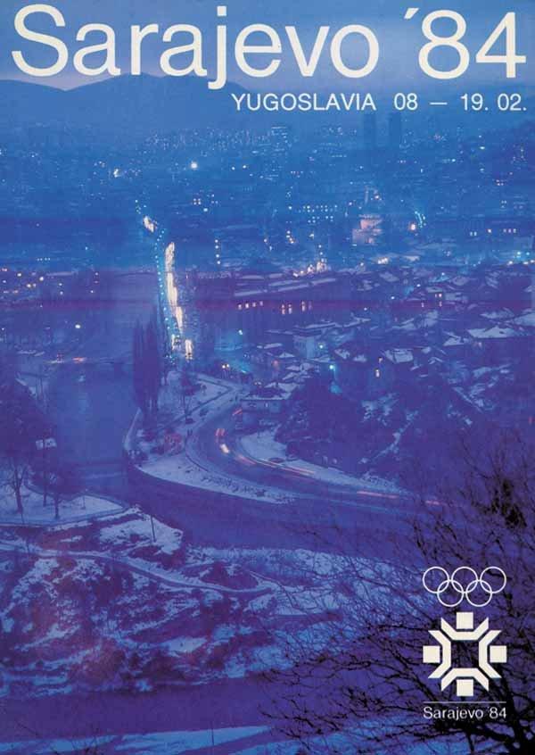 1984 Winter Olympics – Sarajevo, Yugoslavia