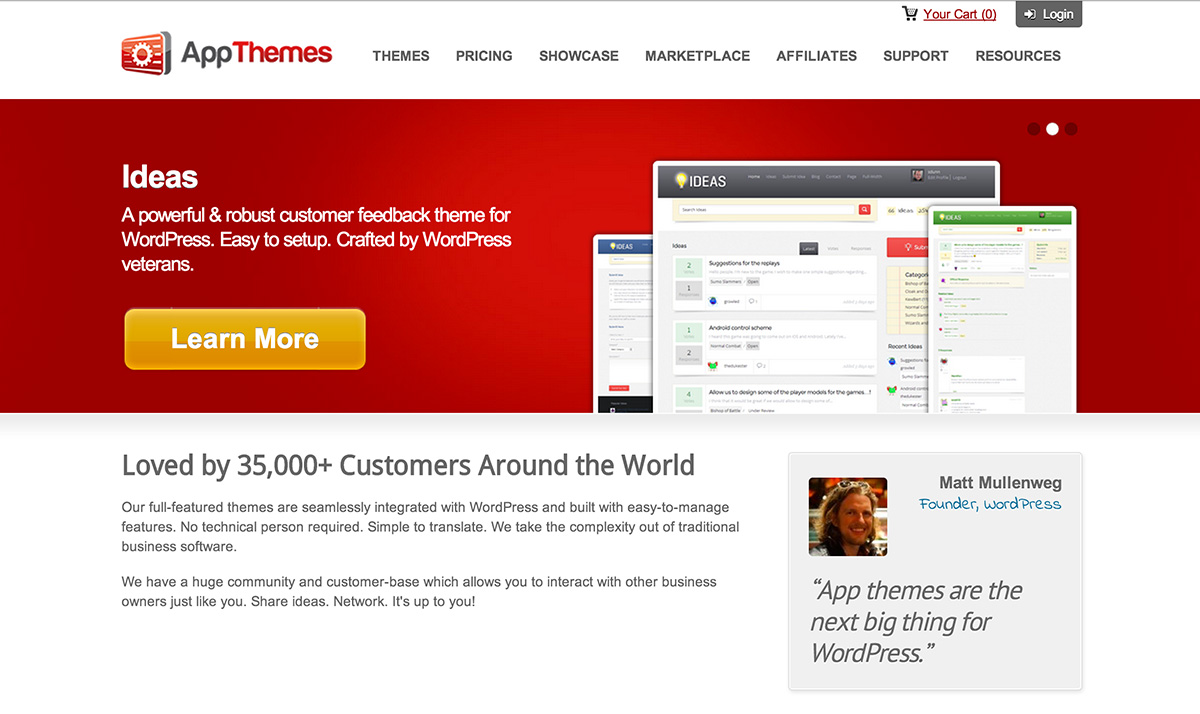 AppThemes Review And Discount 30% Off Coupon 2015