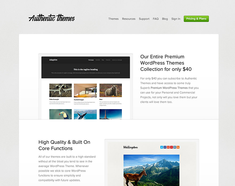 Authentic Themes Coupon 25% Off Discount 2014