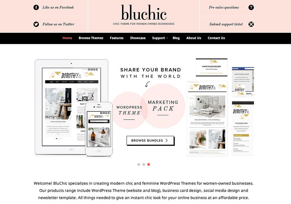 Bluchic Coupon Code 2014 – 15% Off All Bluchic Themes