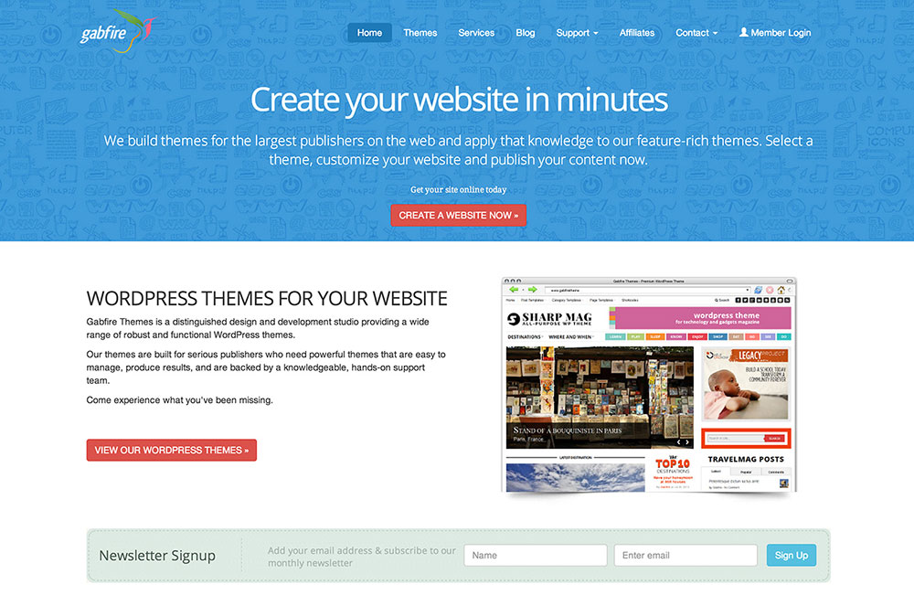 Gabfire Themes Coupon 50% Off Discount Code 2014