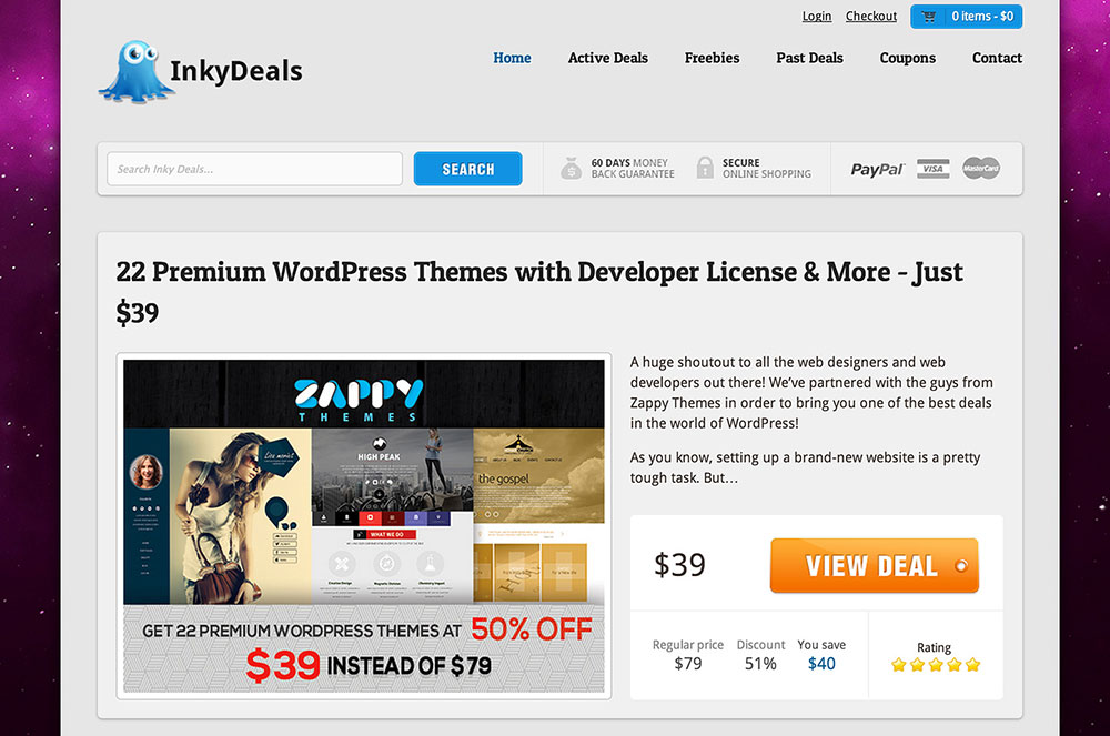 Inky Deals coupon