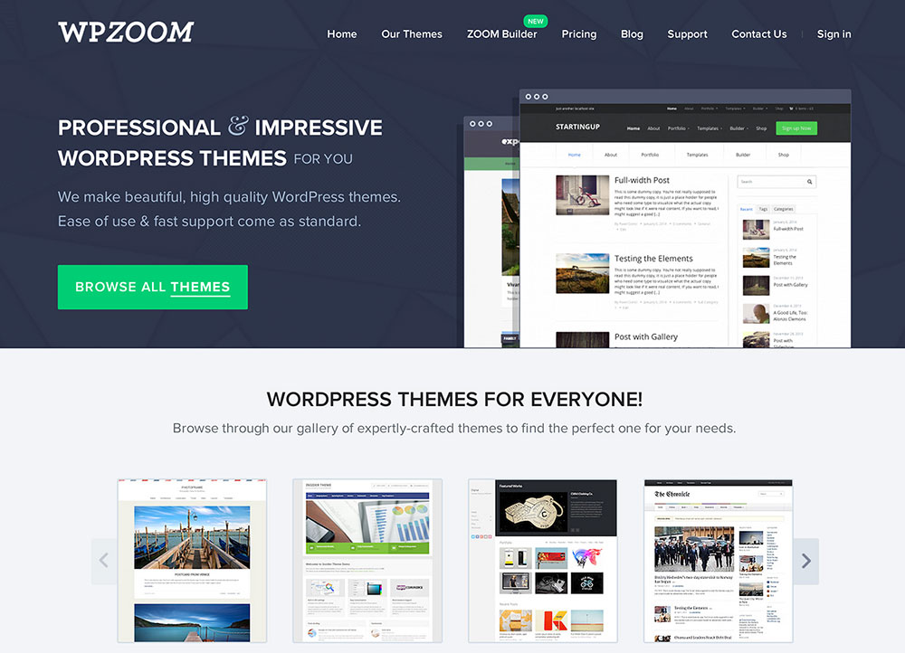 WPZOOM Coupon 2014 – Get 50% Off All Themes