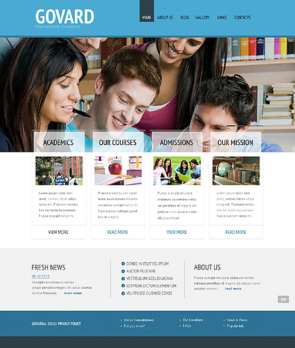 Education WordPress Theme