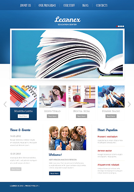 University WordPress Theme