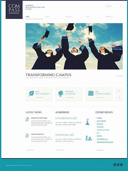 Solid University WordPress Theme