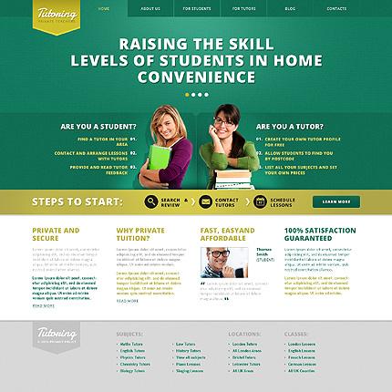 Tutoring WordPress Theme