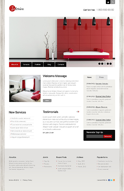40 Interior Design WordPress Themes That Will Boost Your ...