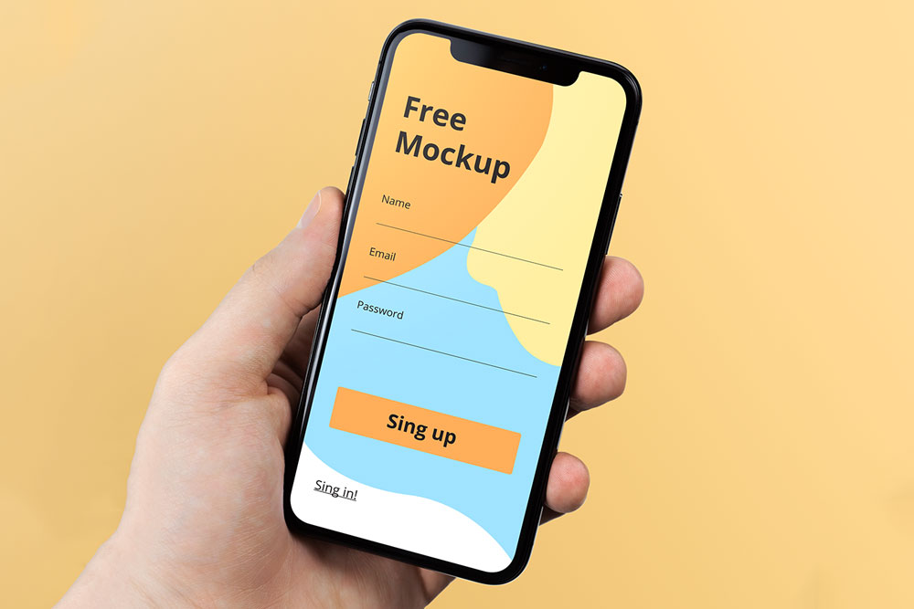 28 Best Free iPhone X / XS Max PSD Mockup Templates in 2019