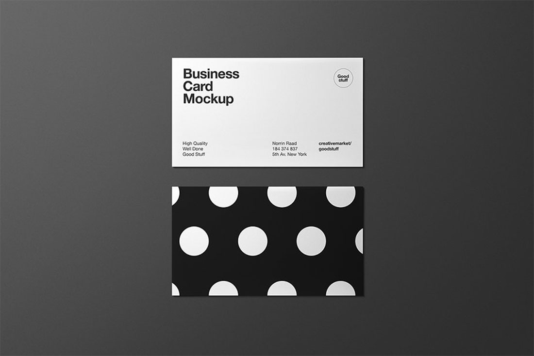 Top 26 Free Business Card PSD Mockup Templates in 2019