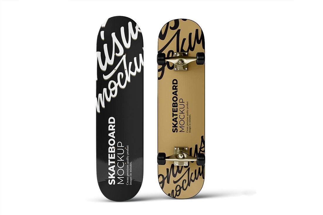 24 Outstanding Skateboard Mockups For Graphic Design - Colorlib