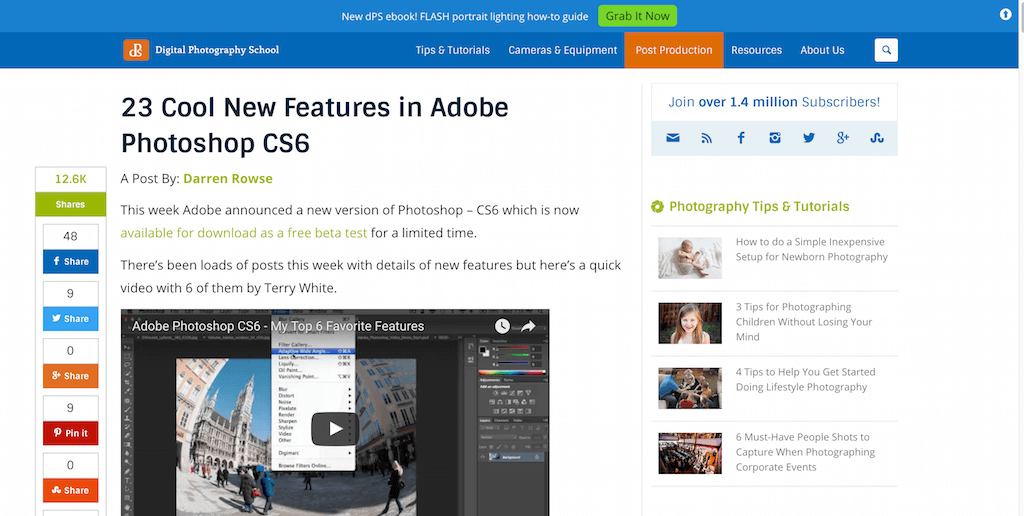 23 Cool New Features in Adobe Photoshop CS6