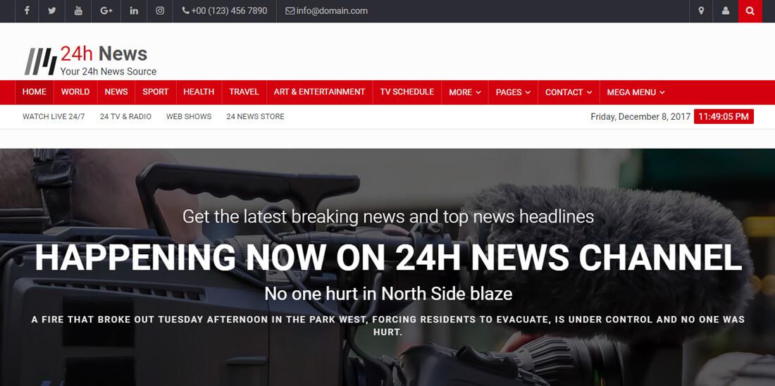 22 Best News Website Templates To Make Viral News Colorlib