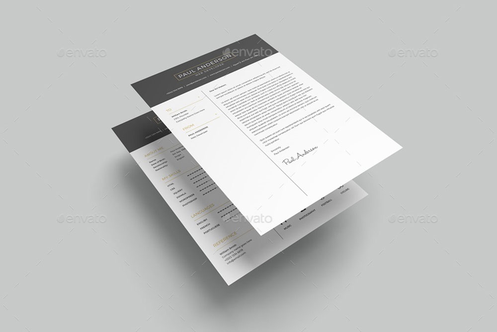 31 useful resume mockups to create professional resume