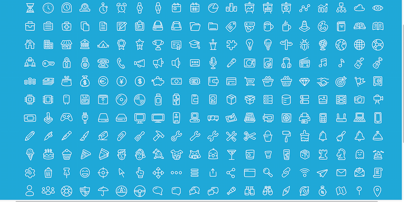 280 Free Office : General Icons