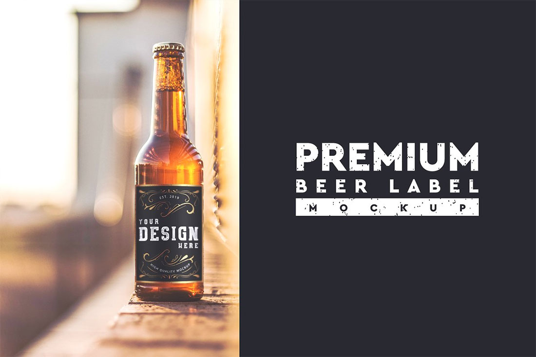 39 Awesome Beer Bottle Mockups For Brewing Industry Colorlib