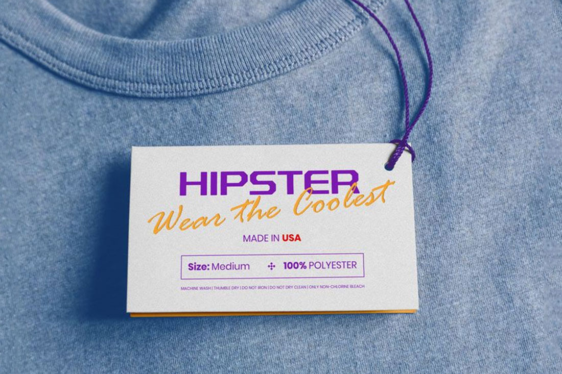 32 Superb Clothing Tag Mockups To Build Strong Brand - Colorlib