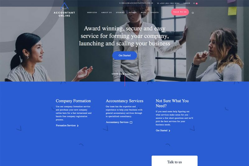 20 Exceptional Accountants Website Design For Inspiration 2020