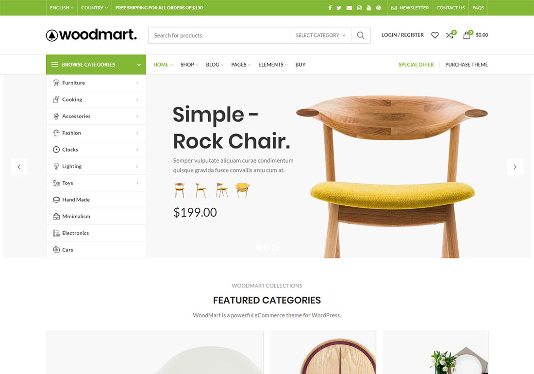 woodmart ajax woocommerce theme