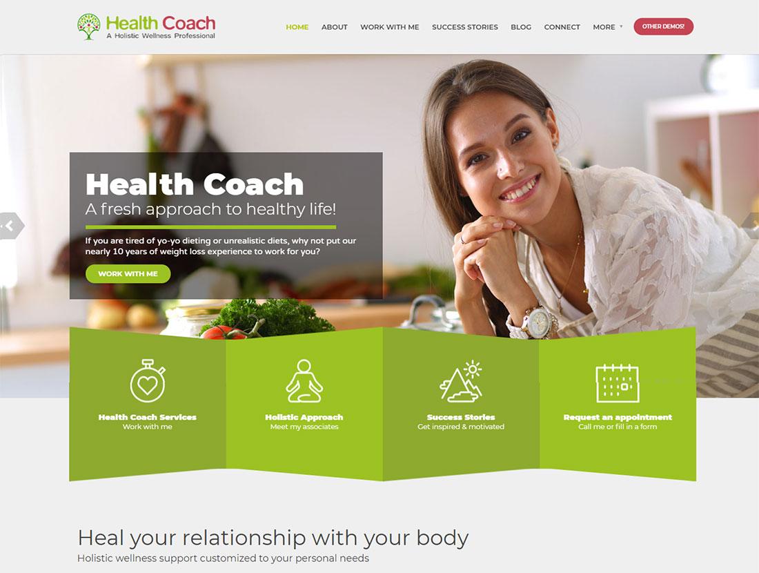 Healthflex - Health Coach WordPress theme