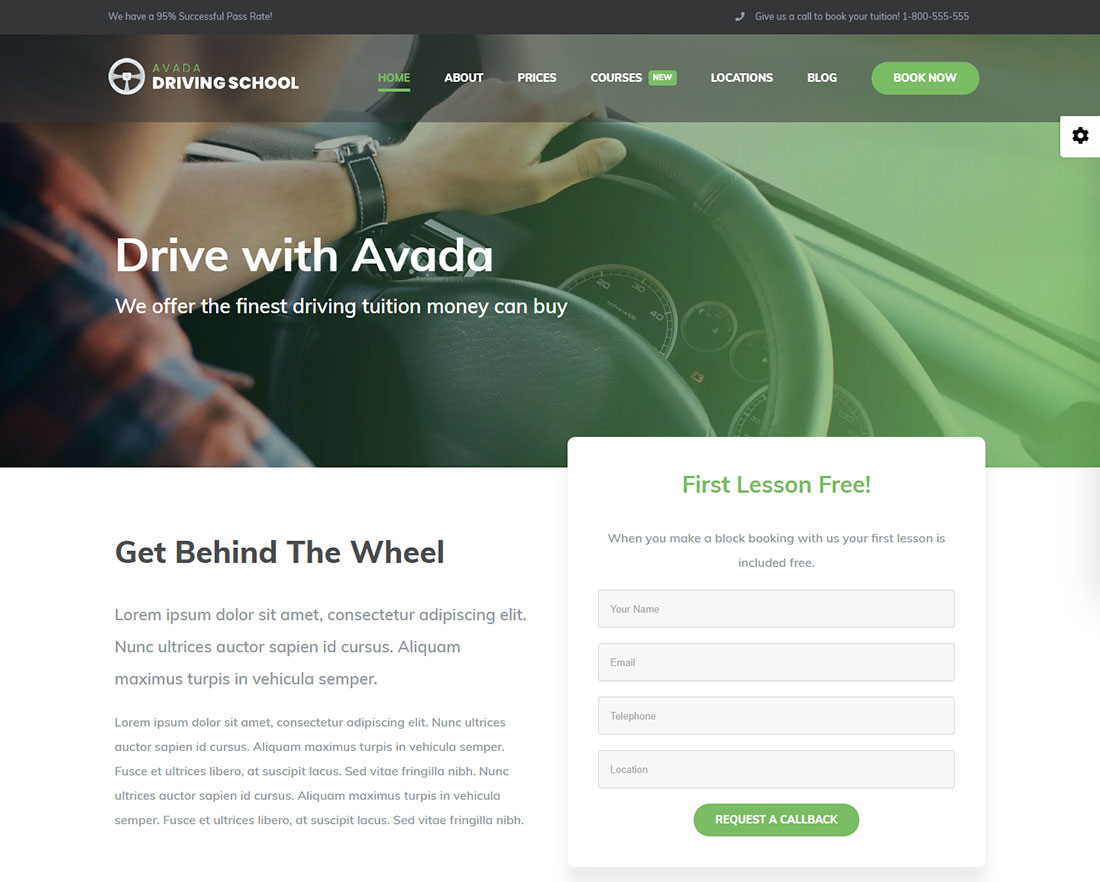 Avada Lead Generation WordPress Theme