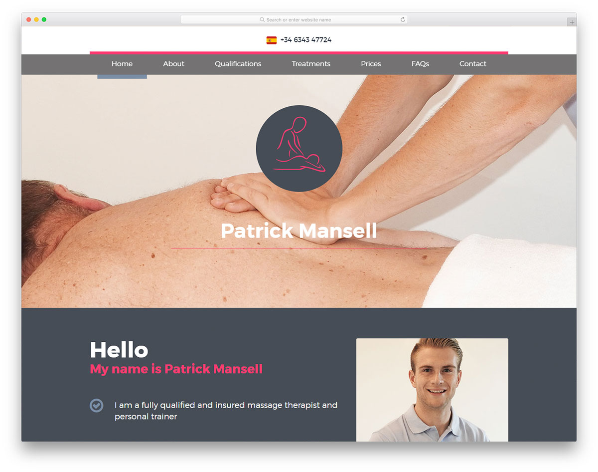 18 Best Massage Websites Design To Inspire Massage Therapists 2019