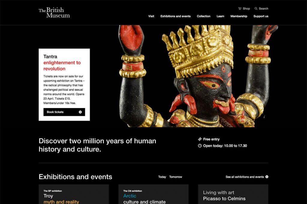 , 20 Best Museum Website Designs For Inspiration 2021, Rojak WP