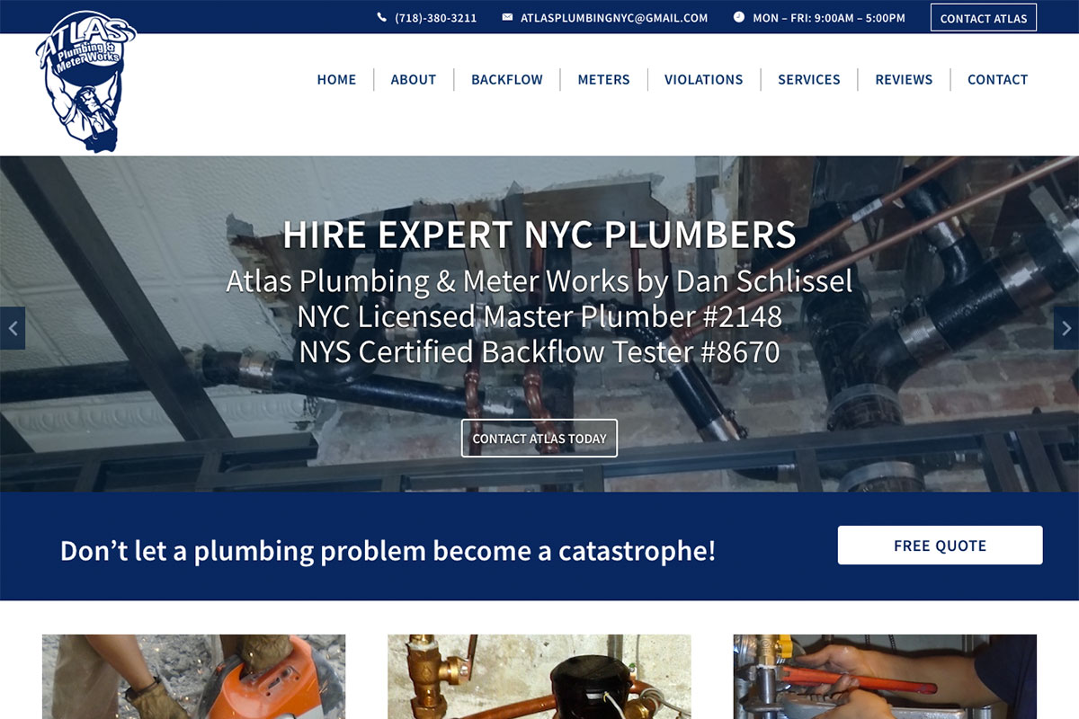Atlas Plumbing NYC