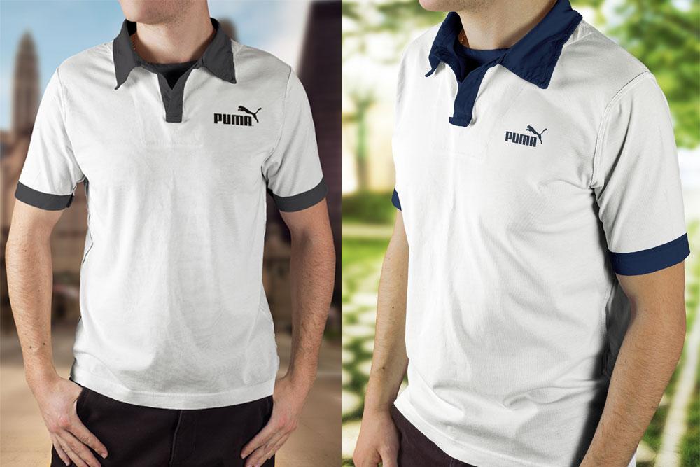 polo shirt mockups