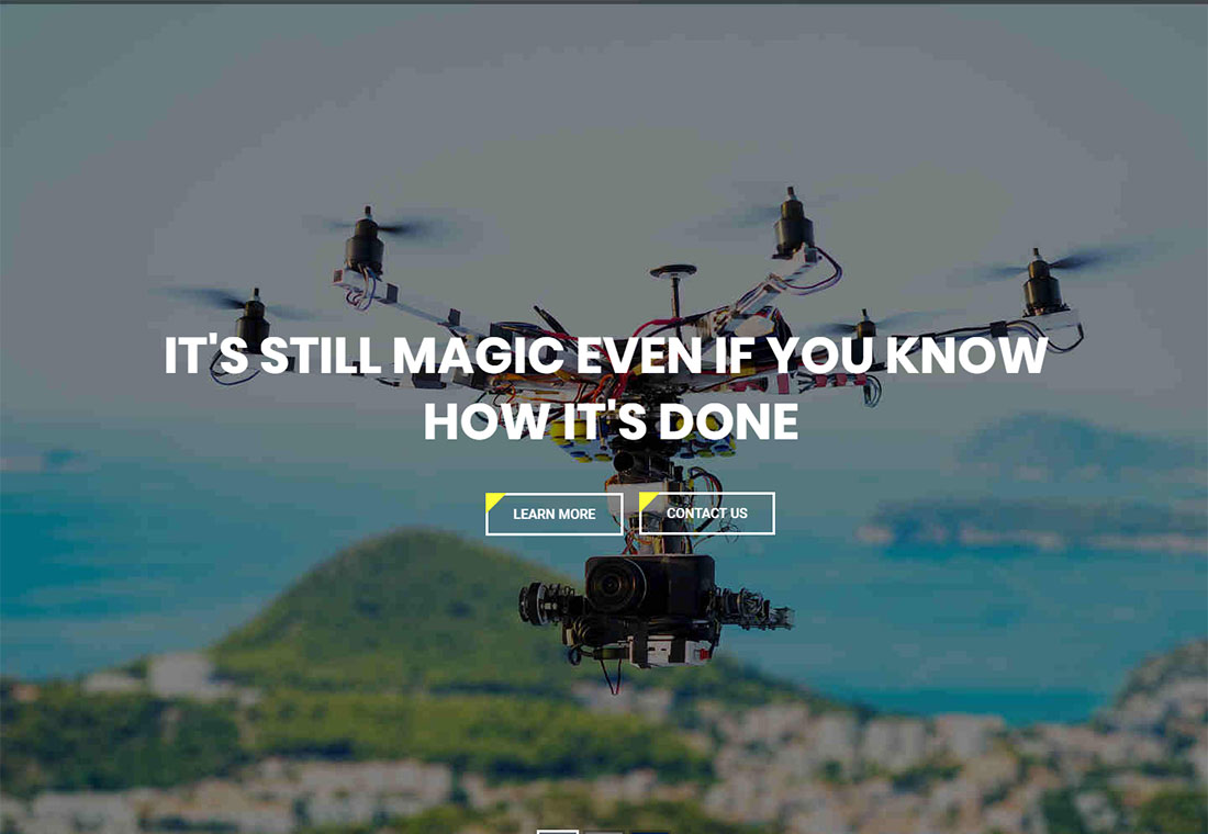 Drone - Single Product WordPress Theme