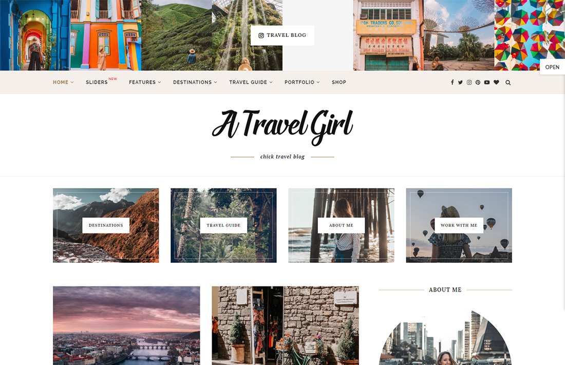soledad travel magazine theme